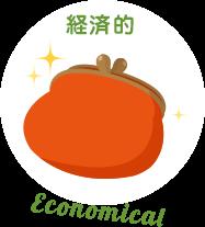 経済的 / Economicalのイラスト